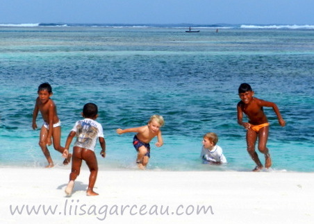 Bespoke Art by Liisa Garceau - Kids Will Always Be Kids San Blas Islands.