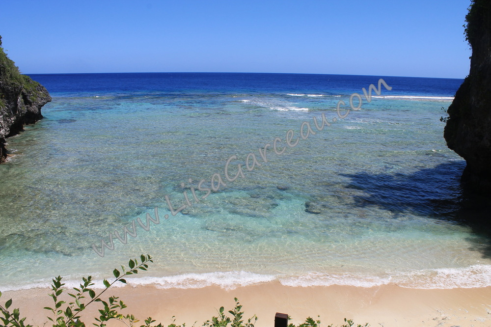 Bespoke Art by Liisa Garceau - Our Beach Niue.