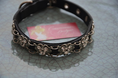 Curvaceous Design Portfolio - Custom made swarovski dog collar