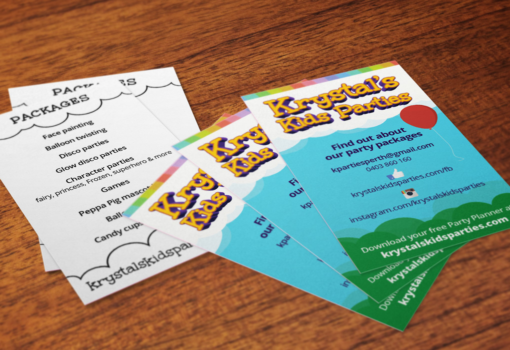 Fantastic Face Painting Business Cards Gallery - Business Card Ideas ...