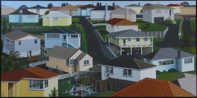 Raye Catran is a artists in New Zealand